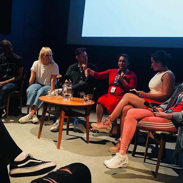 Viktig samtale om forbilder og mangfold på @kortfilmfestivalen i dag.