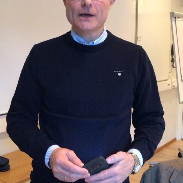 Frode Reksten er første foredragsholder ut på årets bransjedøgn i Sandefjord. Senere i dag skal holde verksted. Her er ett godt råd fra han😊