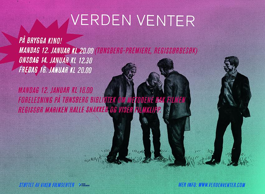 Verden venter Tønsberg 12. jan