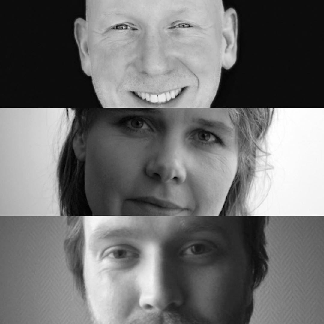 Her er våre produsentveiledere: Jan Dalchow, KriStine Skaret og Isak Eymundsson 🍀 . . . . . . #dokumentarfilm #kortfilm #vikenfilmsenter #produsent