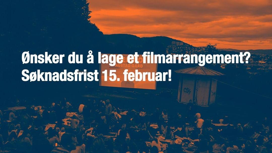 Husk å søke oss om tilskudd til filmkulturelle tiltak innen midnatt lørdag 15. februar 🤓  Viken filmsenter har fra og med 2020 overtatt tilskuddsordningen «Filmkulturelle tiltak» fra Norsk filminstitutt (NFI). Søknader om lokale filmarrangement i Viken og Oslo skal derfor rettes til filmsenteret.  Første søknadsfrist er allerede 15. februar, neste frist er 15. august 2020.  Les mer om ordningen på nettsidene våre (link i bio).
