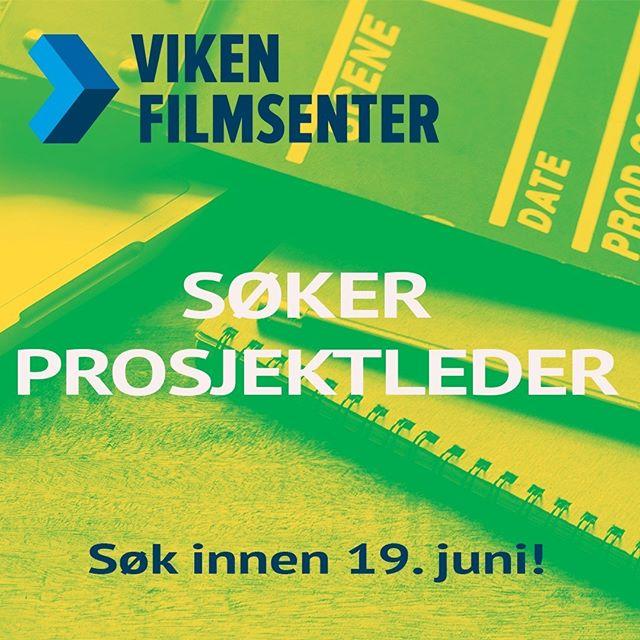 Minner om søknadsfristen i dag kl. 12! Vi søker deg som ønsker å jobbe med tiltak på tvers av film- og spillbransjen til et 10 måneders engasjement. Viken filmsenter ønsker en bransje preget av mangfold, og  oppfordrer alle kvalifiserte kandidater til å søke.  #prosjektleder #film #norskfilm #regissør #produsent #kortfilm #kortfilmfestivalen #dokumentar #dev #gaming #spillutvikling #prosjektledelse