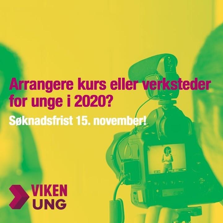 Planlegger du å arrangere kurs, verksted, seminar, mesterklasse eller lignende for unge i 2020?  Vi har øremerkede midler til tiltak som styrker unge filmskapere og spillutviklere i Viken-regionen og Oslo. Søk oss om midler innen 15. november.  Ta gjerne kontakt dersom du har spørsmål til ordningen :D  Les mer på våre nettsider (link i bio). . . . . .  #ungfilm #filmverksted #spillutvikling #vikenfilmsenter #viken #oslo #vikenung