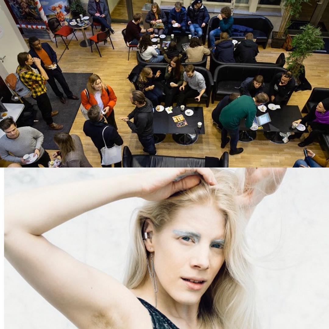 Sandra Kolstad og regissør Haakon Mathisen tok førsteplassen på Kollisjon Pitcheforum med låta «Catch 22». De vant pitsjekonkurransen, og med det 50.000 kroner til innspillingsbudsjettet.  Pengene kommer fra Viken Filmsenter, og konkurransen er en del av prosjektet Kollisjon, som løfter frem samarbeid mellom filmskapere og artister. Vi gratulerer😊  Kollisjon er en serie med arrangementer hvor musikk og filmbransjen kan møtes for å knytte nye bekjentskaper og få inspirasjon og faglig påfyll om musikkvideo. Denne pitchekonkurransen er det tredje arrangementet i rekka og mer mer kommer over jul. (Foto Sandra Kollstad: Anne Valeur) (Foto Kollisjon: Nina Holtan)  #vikenfilmsenter #kollisjon #pitchepris @kollisjon_events @haakonmathiesen @9naholtan @annevaleur