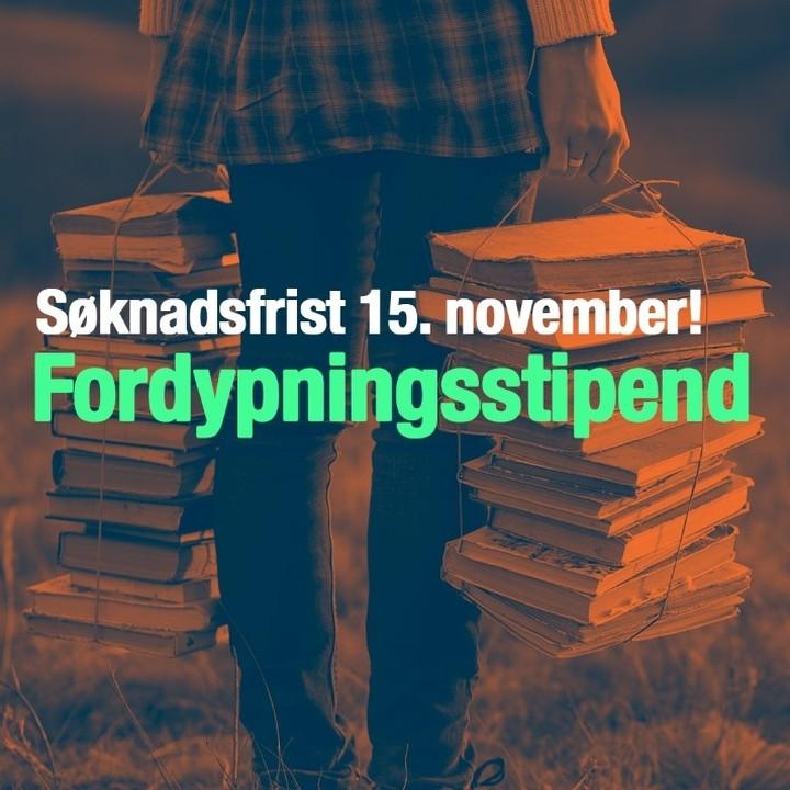 Siste frist for å søke fordypningstipend er midnatt 15. november.