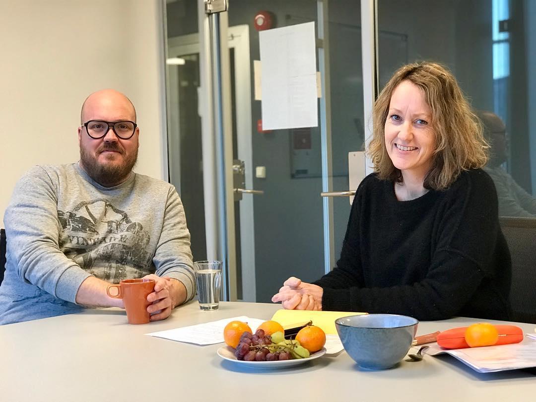Vi fortsetter å hente inn tilbakemeldinger fra filmskapere i regionen. I dag er det Ole Jørgen Flått, fra Tickgarden i Drammen, Marie intervjuer for å få innspill til veien videre😊  #vikenfilmsenter #kortfilm #dokumentar #dokumentarfilm #spillutvikling #produksjonstilskudd