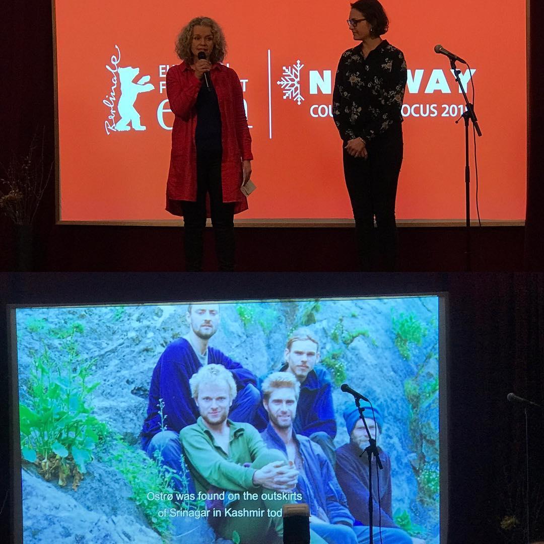 Work in progress i Norway House i dag med sterk presentasjon av dokumentaren Golden Swan av regissør Anette Ostrø og Fri Film ved produsent Beathe Hofseth.  #norwayhouse  #norwayinfocus #vikenfilmsenter #berlinale2019